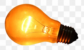Light Bulb Transparent Image - Incandescent Light Bulb Lamp Light-emitting Diode PNG