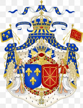 England - Kingdom Of France Kingdom Of Navarre National Emblem Of France Coat Of Arms PNG