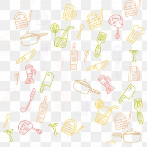 Color Kitchen Utensils Floating Element - Kitchen Utensil Spoon Kitchenware PNG