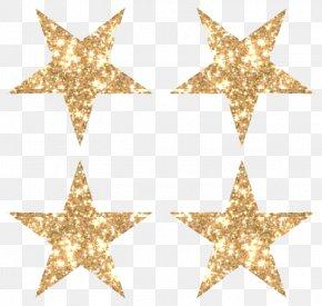 Gold Glitter Star Image - Star Glitter Gold Clip Art PNG