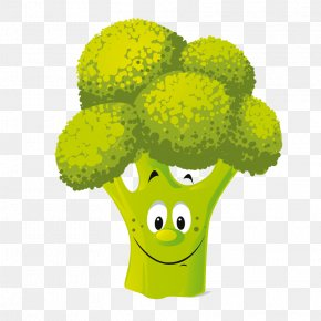 Cauliflower - Vegetable Cartoon Vegetarian Cuisine Clip Art PNG