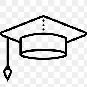 Cap - Square Academic Cap Graduation Ceremony Diploma PNG