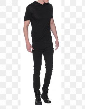 Neil Barrett - T-shirt Jeans Balmain Sleeve Shoulder PNG