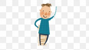 Cartoon Boy - Boy Sleeve Logo Illustration PNG