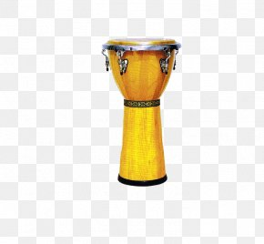 Wooden Leather Drums - Djembe Bongo Drum PNG
