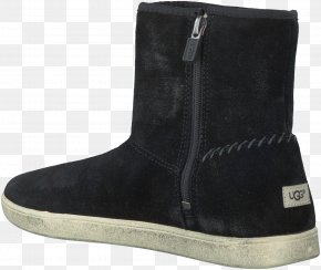 Boot - Suede Boot Shoe Black M PNG