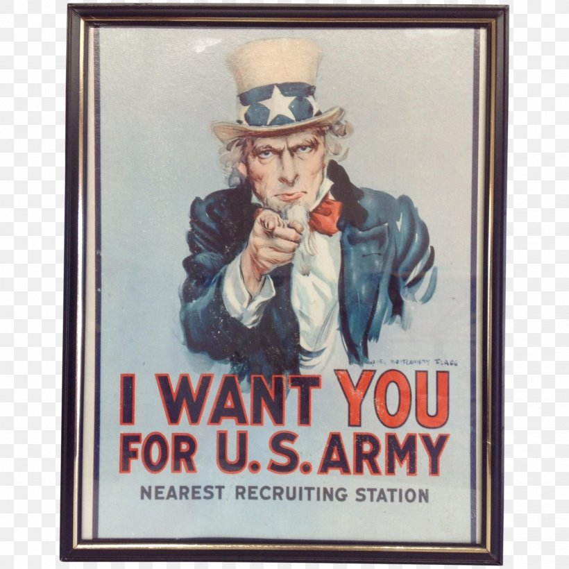 Uncle Sam I Want You United States Army Recruiting Command, PNG, 1921x1921px, Uncle Sam, Advertising, Army, I Want You, James Montgomery Flagg Download Free