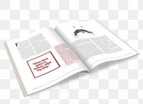 Design - Graphic Design Mockup Magazine Industrial Design PNG