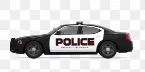 Black Police Car Side - Police Car Dodge Charger Police Officer PNG