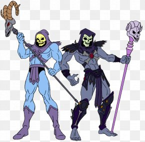 A Crafty And Villainous Person - Skeletor He-Man Masters Of The Universe: The Movie Cartoon PNG