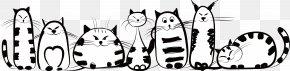 Creative Stick Figure Cat - Cat Kitten Felidae Drawing PNG
