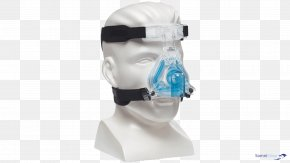 Mask - Continuous Positive Airway Pressure Respironics, Inc. Full Face Diving Mask Non-invasive Ventilation PNG