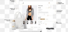 Design - E-commerce Web Design Page Layout PNG