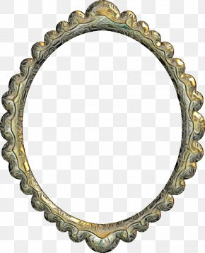 Metal Picture Frame - Watercolor Background Frame PNG