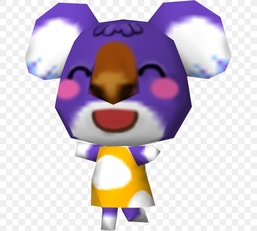 Animal Crossing New Leaf Sydney Gamecube Video Game Png