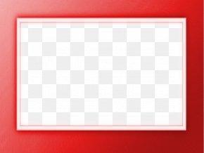Red Border - Picture Frames Pixabay Photography Illustration PNG