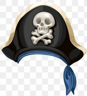 Cartoon Hand-painted Hat - Piracy Hat PNG
