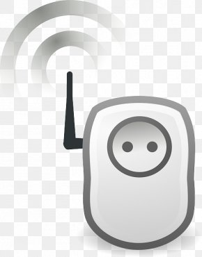 Power Socket - Wireless Wi-Fi Clip Art PNG