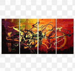 Color Spray - Modern Art Abstract Art Contemporary Art Painting PNG