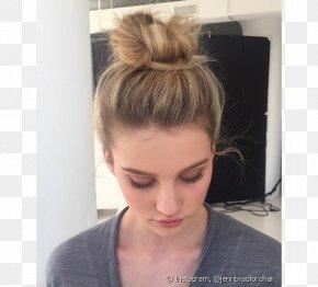 Bun - Bun Hair Coloring Long Hair Hairstyle PNG