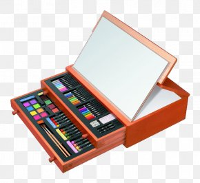 Color Pencil Drawing Pen Free Pull - Art Museum Easel Drawing Sketch PNG
