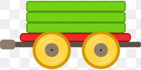 Train - Train Passenger Car Rail Transport Railroad Car Clip Art PNG