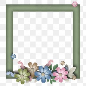 Lg - Picture Frames Mother's Day Flower PNG