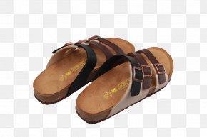 Leather Buckle Sandals - Slipper Sandal Flip-flops PNG