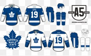 Toronto Maple Leafs Logo - Toronto Maple Leafs Sports Fan Jersey T-shirt Licence Plate Tag PNG