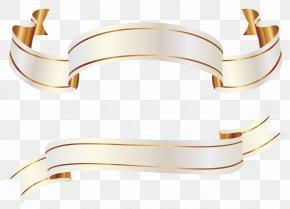 Gold Banner Cliparts - Gold Banner Clip Art PNG