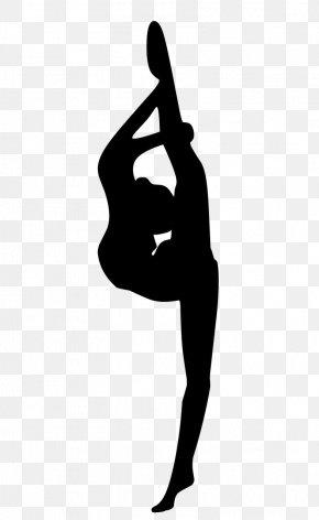 Gymnastics Rhythmic Gymnastics - Athletic Dance Move Silhouette Performing Arts Rhythmic Gymnastics Gymnastics PNG