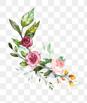 Flower - Watercolor: Flowers Illustration Watercolor Painting Floral Design PNG