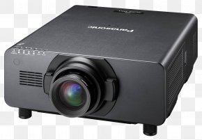 Digital Cinema Projector - Video Projector Digital Light Processing Panasonic Home Cinema PNG