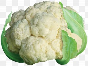 Cauliflower Transparent Clip Art Image - Cauliflower Broccoli Slaw Cabbage PNG