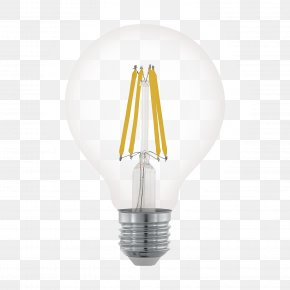 Led Lamp - Lighting LED Lamp Incandescent Light Bulb PNG