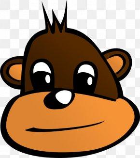 Cartoon Monkey Clipart - Sailor Monkey Clip Art PNG