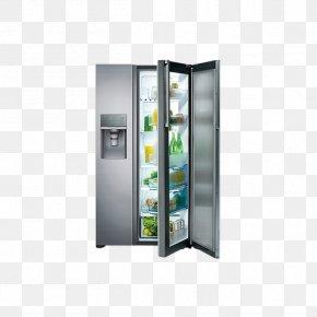 Refrigerator - Refrigerator Samsung Auto-defrost Home Appliance Freezers PNG
