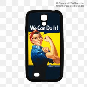 Rosie The Riveter - We Can Do It! World War II Rosie The Riveter United States Of America War Effort PNG