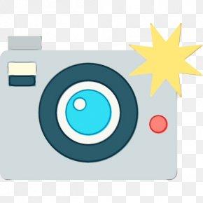 Camera Cameras Optics - Aqua Turquoise Circle Cameras & Optics Camera PNG