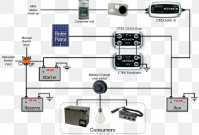 Wiring - Battery Charger Wiring Diagram Electrical Wires & Cable Electronic Circuit PNG