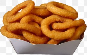Grilled Onion Rings - Hamburger Onion Ring French Fries Bacon Buffalo Wing PNG