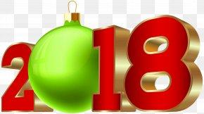 2018 Transparent Deco Clip Art - New Year Santa Claus Clip Art PNG