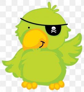 Pirate Parrot - Piracy Papagaio De Pirata Drawing PNG