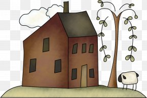 Country House - Royalty-free Cartoon Clip Art PNG