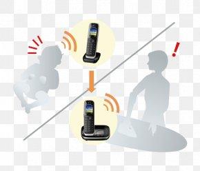 Answering Machine - Cordless Telephone Panasonic Cordless Kx-Tgh222Gb Sz Digital Enhanced Cordless Telecommunications Home & Business Phones PNG