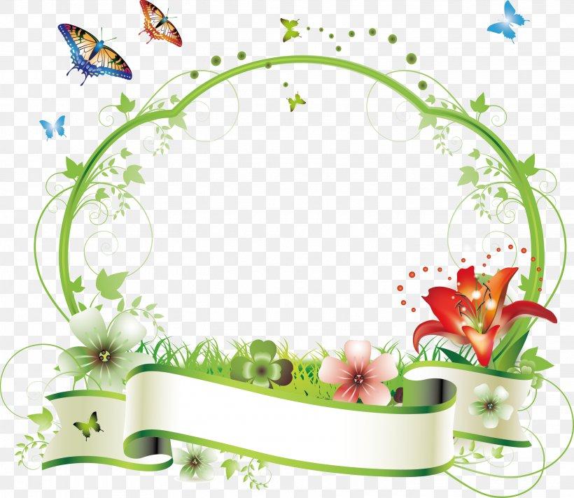 Flower Picture Frame Floral Design Clip Art, PNG, 2833x2461px, Flower, Area, Art, Drawing, Floral Design Download Free