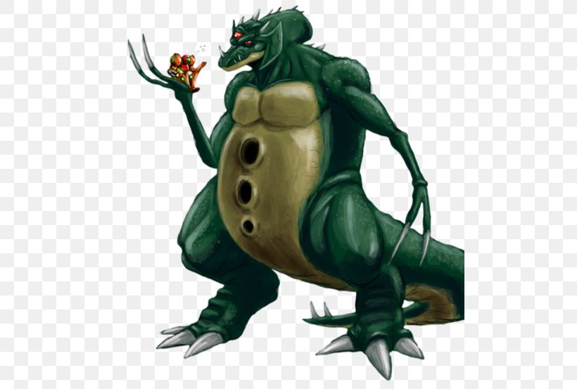 Kraid Samus Aran Boss Metroid Ridley Png 500x553px Kraid
