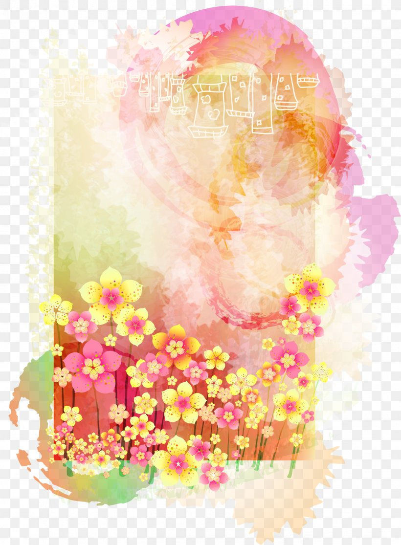Watercolor Painting Art Flower Png 1364x1855px Watercolor