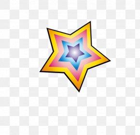 Vector Colored Stars Photos - Euclidean Vector Information PNG