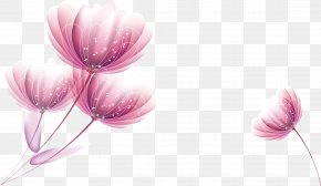 Watercolor Flowers Vector - Watercolor Painting Euclidean Vector Flower Petal PNG